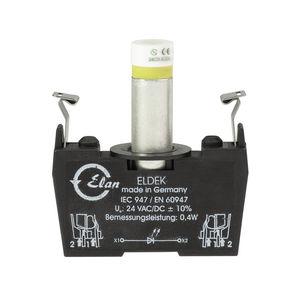 bloque de conexión con conexión rápida / para de bus / DC / con para uso con LED