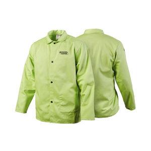 chaqueta de trabajo / contra los arcos eléctricos / de poliéster / de tejido