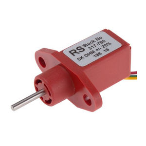 potenciómetro rotativo / de plástico conductor