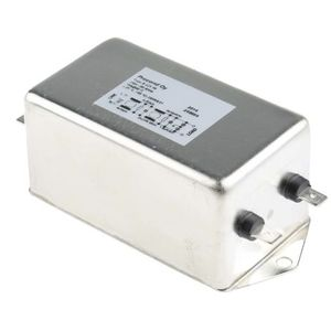 filtro electrónico paso banda