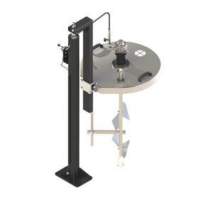 mezcladora de turbina / de palas / de pintura / compacta