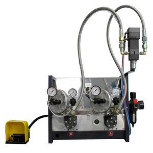 dosificador bicomponente / de laboratorio / para líquido de baja viscosidad / para medios de viscosidad media