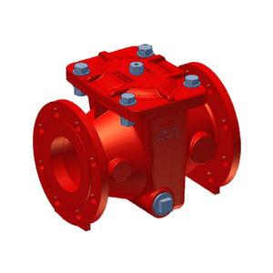 filtro de hierro fundido / de agua / de tamiz / compacto