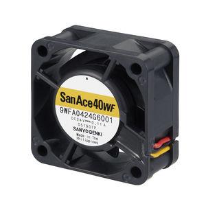 ventilador axial / para la electrónica / de refrigeración / de alta eficacia