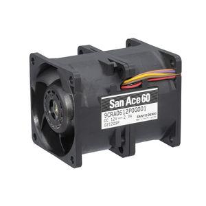 ventilador para la electrónica / axial / de circulación de aire / de alta presión
