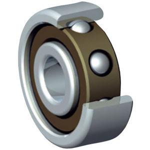 rodamiento de bolas / de contacto oblicuo / de acero inoxidable / de acero cromado