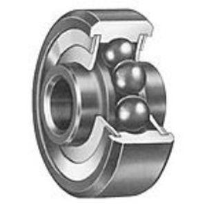 rodamiento de bolas / de una sola hilera / radial / de acero inoxidable