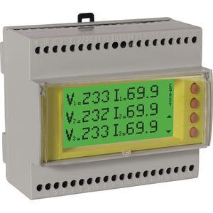 analizador de red eléctrica / de calidad de la energía / integrable / digital