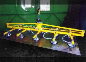 elevador de ventosas para chapas / neumático / horizontal
