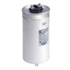 condensador eléctrico de potencia / de aluminio / de película de polipropileno / de película de polipropileno metalizado