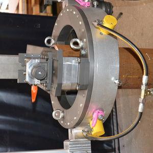 máquina de corte para acero inoxidable / para acero / para aluminio / para acero al carbono