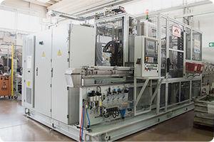 máquina de templado automática