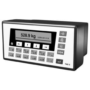 indicador controlador de pesaje estanco al polvo