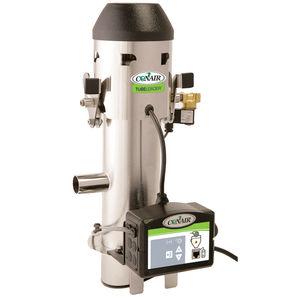 cargador de tolva para granulado de plástico / para transporte neumático / para la industria del plástico / compacto