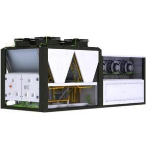 unidad de climatización de tejado