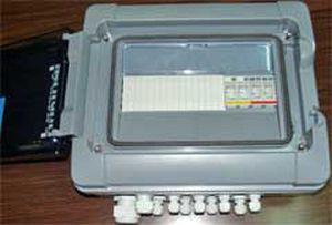 caja eléctrica equipada