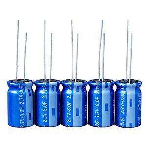 supercondensador para circuito impreso / con terminales radiales / de reducida resistencia equivalente en serie / de alta temperatura