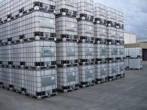 contenedor IBC de polietileno / para productos a granel / para productos farmacéuticos