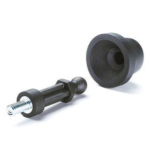 elemento de fijación para aplicaciones automóviles / para el sector de la construcción / para la aeronáutica / de plástico
