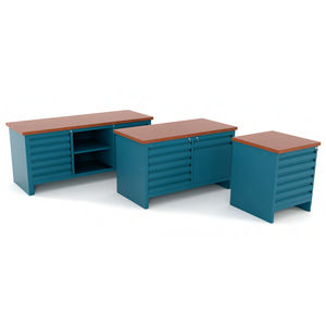 banco de trabajo de madera / modular / con múltiples cajones