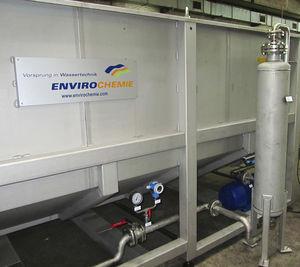 planta de flotación de aire disuelto