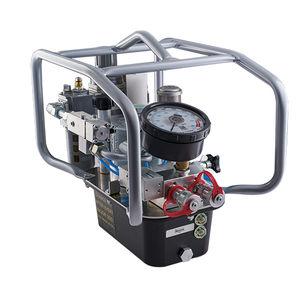 bomba hidráulica de pistón / con control neumático / compacta / de 2 etapas