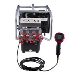 grupo hidráulico con motor eléctrico / para llave dinamométrica / de bajo ruido / portátil
