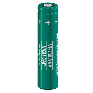 pila recargable Ni-MH / tipo AAA / alta capacidad / alta potencia