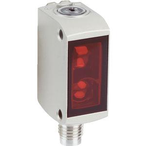 sensor fotoeléctrico con supresión de fondo / retrorreflector / de tipo barrera / rectangular