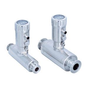 caudalímetro por ultrasonidos / para agua / para aceite / compacto