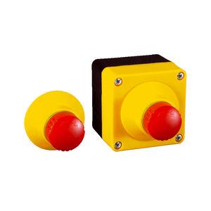 botón pulsador de parada de emergencia / de seta