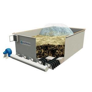 biofiltro de aire / de membrana / de partículas