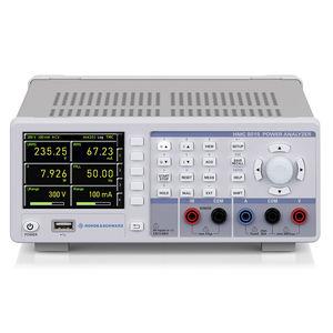 analizador de red eléctrica / de potencia / benchtop / compacto