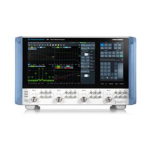 analizador de red vectorial / digital / de alta eficacia / con pantalla táctil
