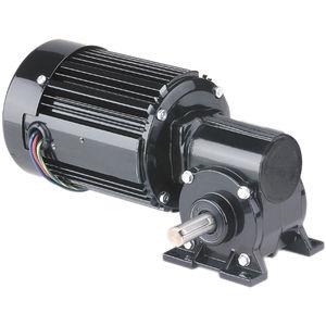 motorreductor AC / monofásico / trifásico / de ejes ortogonales
