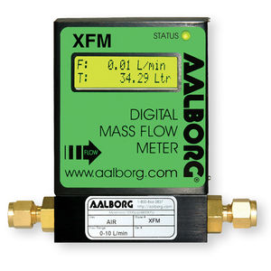 caudalímetro térmico / másico / para gas / RS485