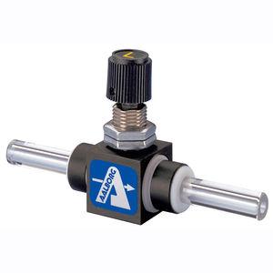válvula de PTFE / de aguja / dosificadora / para agua