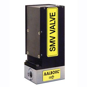 válvula por motor paso a paso / de aguja / dosificadora / para gas