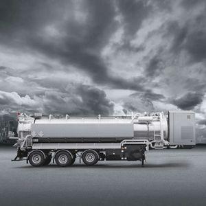 remolque de 3 ejes / para depósito / cisterna / para carga pesada