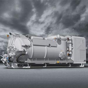 aspiradora-compresora con motor diésel / para uso industrial / móvil