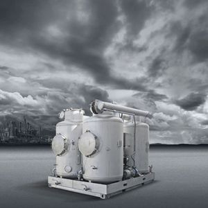 lavador de gases en seco