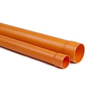 tubería rígida para agua / para obra de construcción / para edificio / de PVC