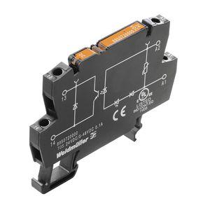 módulo de relé estático / para montaje sobre riel DIN / con optoacoplador sobre / compacta