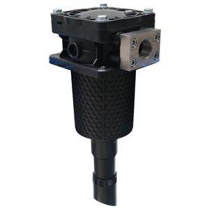 cárter de filtro de cartucho / para líquido / de material plástico / resistente a la corrosión