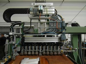 sistema de inspección por ultrasonidos / automatizado / para tubos soldados