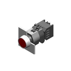 botón pulsador táctil / con luz LED / IP65