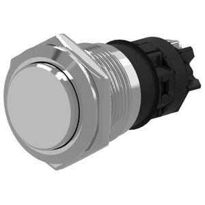 botón pulsador táctil / de aluminio / acción momentánea / IP65