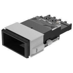 botón pulsador no luminoso / acción momentánea / de corte / IP40