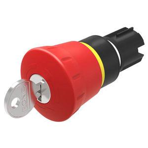interruptor de llave / de parada de emergencia / unipolar / no luminoso