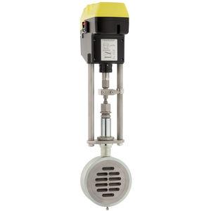 válvula de cuchilla / con mando eléctrico / de control / de cierre